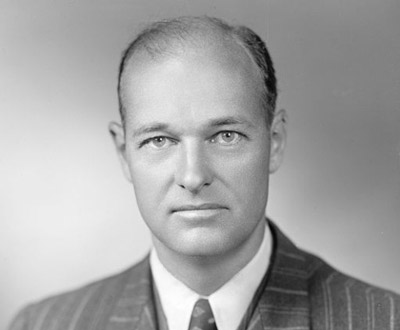American diplomat and political scientist, George F. Kennan, 1947.