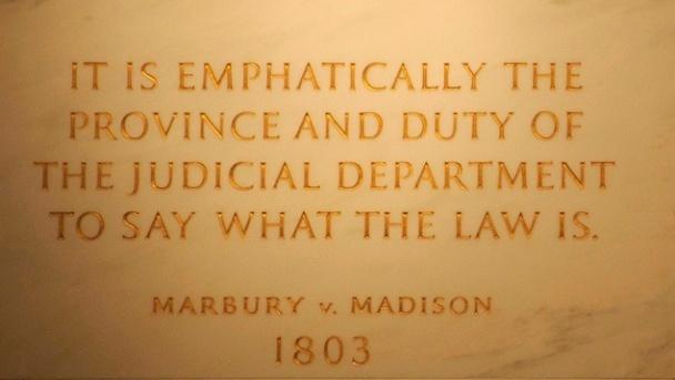 Essay on marbury vs madison