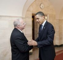 President Obama and Cyber Czar Howard Schmidt
