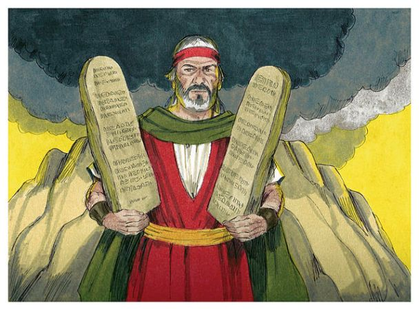 """""""Book of Exodus Chapter 21-1 (Bible Illustrations by Sweet Media)"""" by Distant Shores Media/Sweet Publishing."""