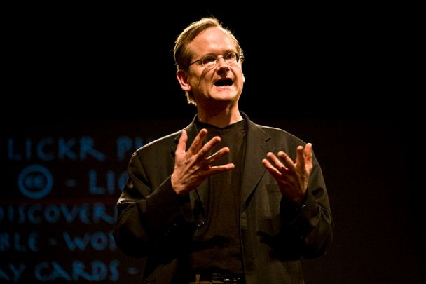 """""""Lawrence Lessig, February 2008"""" by Robert Scoble from Half Moon Bay, USA"""