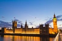 """""""UK Parliament HDR"""" by Mdbeckwith - Own work."""