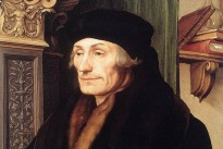 """Erasmus"" by Hans Holbein the Younger, 1523"
