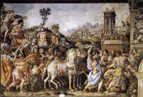 """Triumph of Furius Camillus,"" by Francesco Salviati, Palazzo Vecchio, Florence"