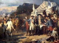 """""""The Siege of Yorktown"""" by Auguste Couder, Palace of Versailles"""