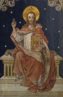 Christ the King sitting on his throne. Photo by Rh-67 - Own work. Licensed under CC BY-SA 3.0 via Wikimedia Commons.
