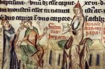 Excommunication of Emperer Frederick II by Pope Innocent IV.