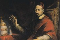 Pope Alexander VII, who was bishop of Rome when Leviathan was published.