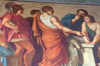 Aristotle and his disciples