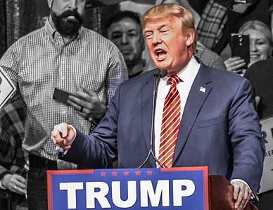 """""""Donald Trump in Reno, Nevada, January 2016"""" by Darron Birgenheier from Reno, NV, USA . Licensed under CC BY-SA 2.0 via Wikimedia Commons."""