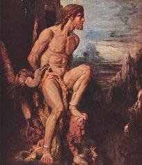 """Prometheus"" by Gustave Moreau"