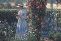"""Sweet Solitude,"" by Edmund Blair Leighton."