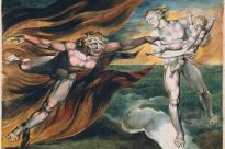 """The Good and Evil Angels"" by William Blake, Tate Gallery, London"