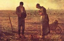 """""""The Angelus,"""" by Jean-Francois Millet, Musee d'Orsay, Paris."""